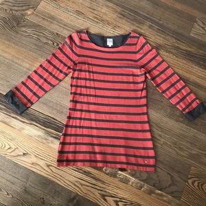 Simons Striped knit Sweater Tunic